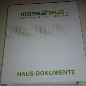 massahaus Haus-Dokumente-Ordner