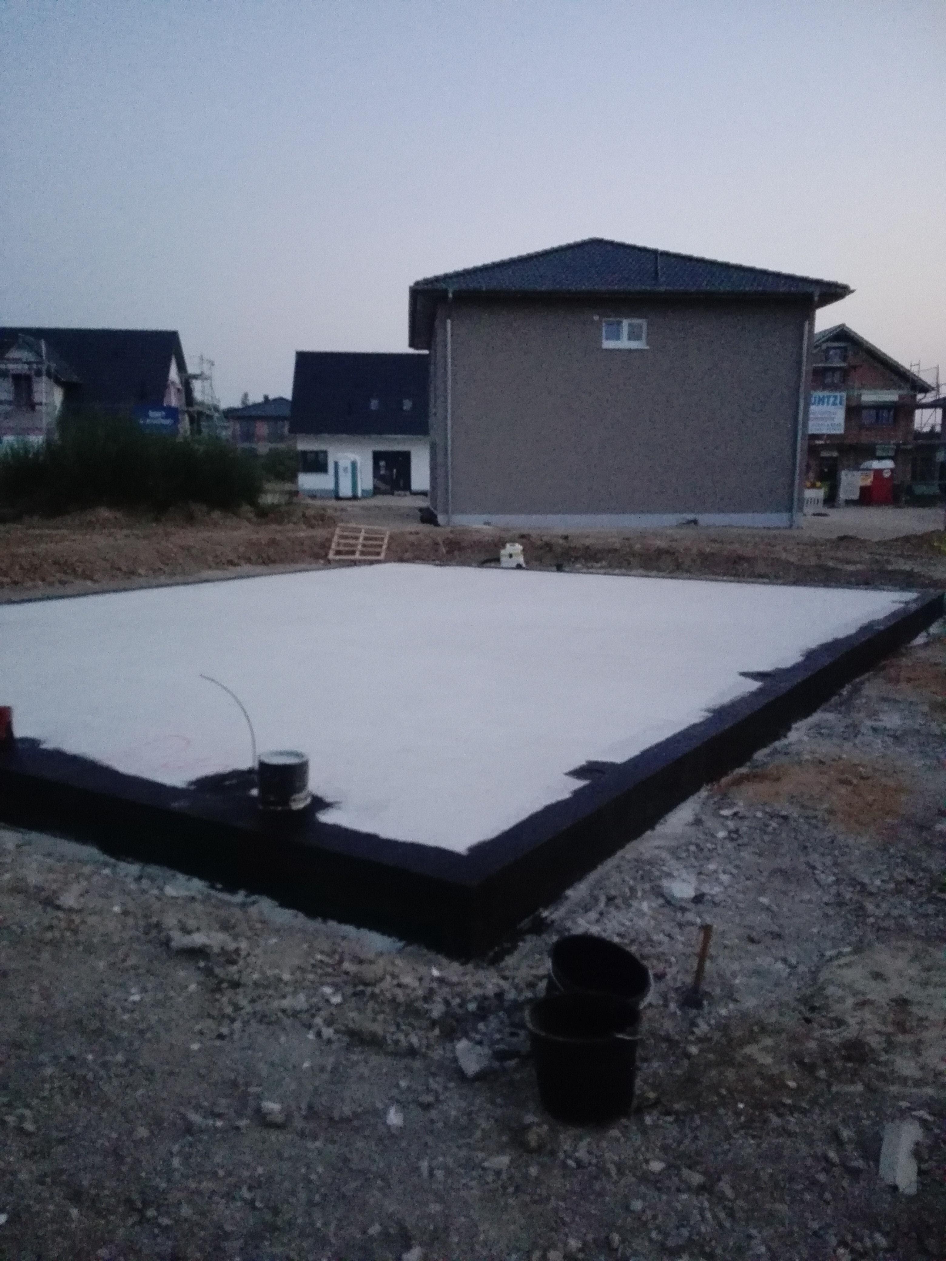 Bekannt Bodenplatte herrichten   Prumenbüls-Hausbau YN88
