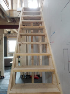 Unsere Bautreppe